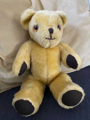 Vintage Teddy Bear With Moveable Arms, Legs and Head