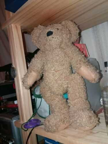 OLD VINTAGE 10 Inch JOINTED TEDDY BEAR