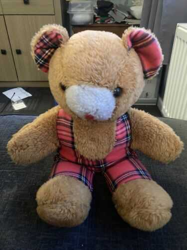 Vintage Straw Filled Teddy