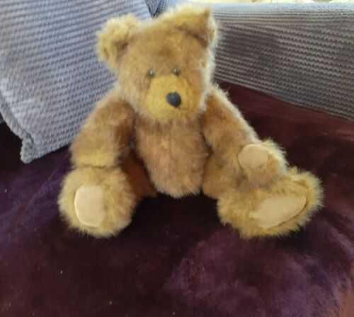 TEDDY BEAR, FULLY  JOINTED BEAR,  MOVEABLE HEAD ARMS LEGS