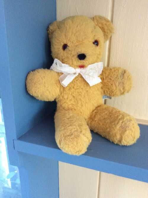 An Old gwentoys Vintage Teddy Bear. 1960s