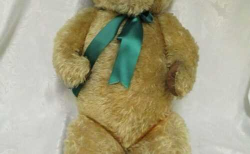 Vintage Antique Large Mohair Teddy Bear, Fully Jointed, 35″ (89cm).