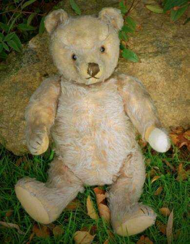 LARGE LOVED OLD ANTIQUE STEIFF TEDDY BEAR 1950's