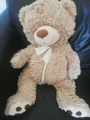 Large Teddy Bear In Need Of TLC Approx 2 Ft Long