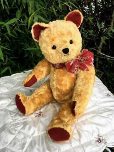 Antique / Vintage 22 inch Musical Teddy Bear - 1950's