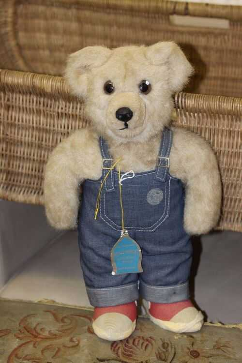 two vintage Merrythought bear all original clothes with label and tag