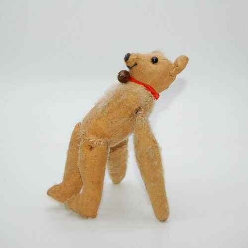 VERY RARE 1910/20s Somersaulting / Tumbling Jester Old Antique Teddy Bear