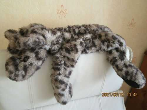 Vintage Chad Valley Plush Pyjama Nightdress Case - Dog ?