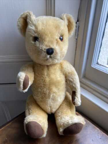 Gorgeous vintage teddy Bear Fully Jointed Mohair?