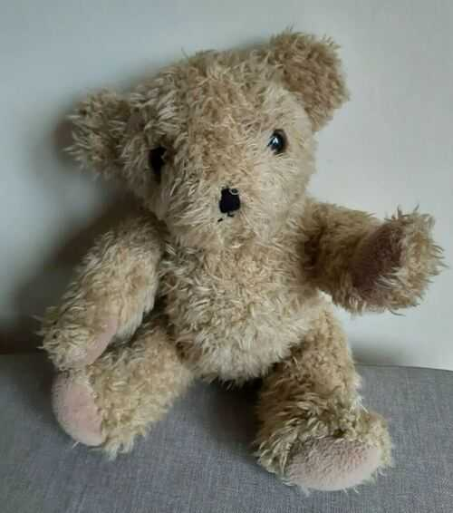Vintage Jointed Teddy Bear 12inch Renault Promotional