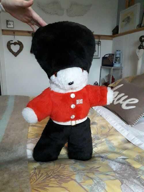 Large Vintage Guardsman Teddy